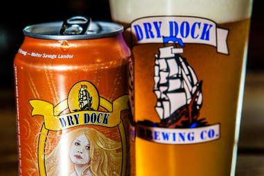 Dry Dock Apricot Blonde Beer