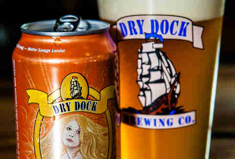 Dry Dock Apricot Blonde Beer