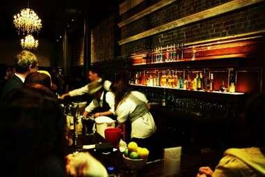 Bartender at Burritt Room