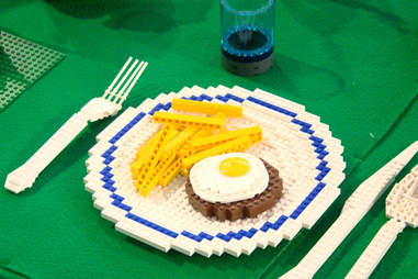 Lego Egg and Fries