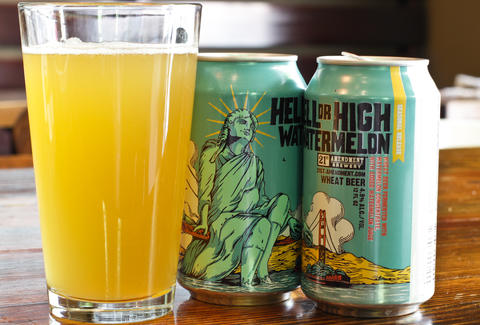 21st Amendment Brewery – Hell or High Watermelon