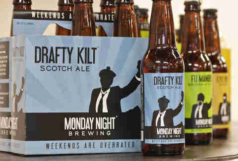 Monday Night Brewing – Drafty Kilt Scotch Ale