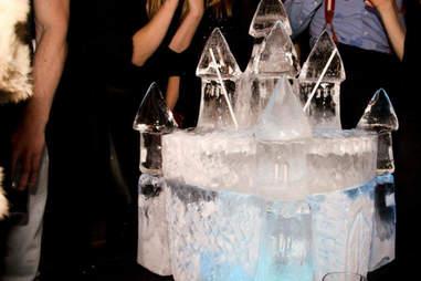 Ice castle at Bodo's Schloss