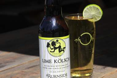 Burnside Brewing Lime Kolsch