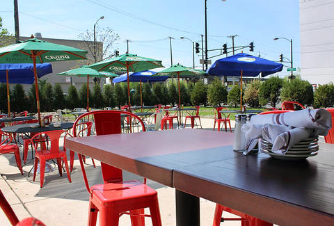Park Tavern's outdoor patio