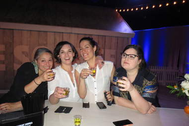 Dutch Kills' Karin Stanley, Clover Club's Ivy Mix, Death and Co's Eryn Reece, and Drinksat6's Lynnette Marrero
