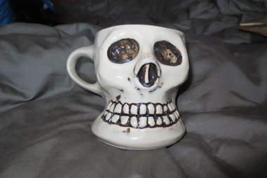 Ceramic mug from the Kitsch Inn
