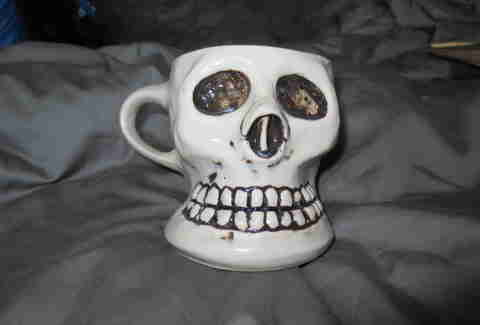 Ceramic mug from the Kitsch Inn
