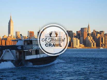 East River Ferry - Thrillist New York Bar Crawl