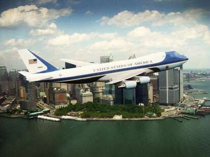Air Force One NYC Ground Zero