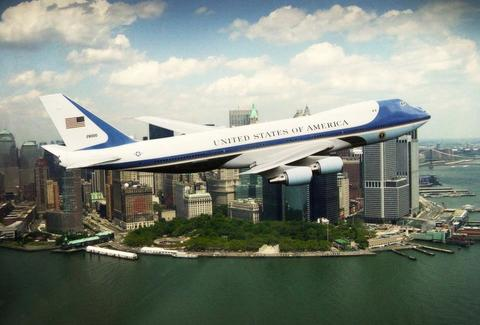 Air Force One NYC Ground Zero