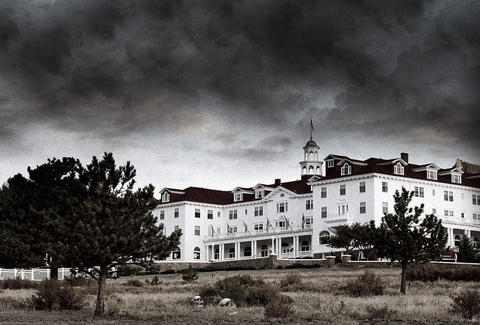 Stanley Hotel in Estes Park, Colorado. The Shining hotel.