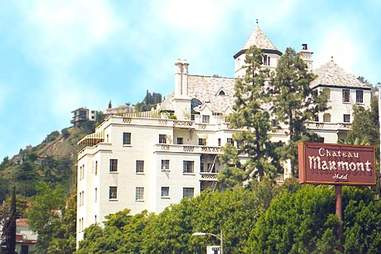 Chateau Marmont on the Sunset Strip in West Hollywood, CA