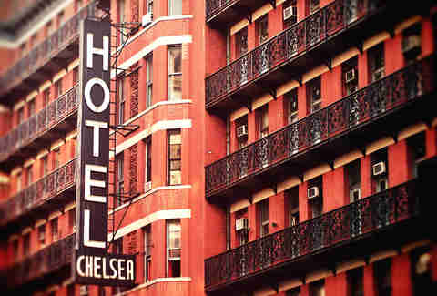 Hotel Chelsea in Manhattan