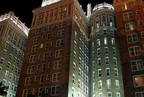 The Skirvin Hotel in Oklahoma City