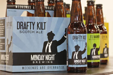 Monday Night Brewing's Drafty Kilt Scotch Ale