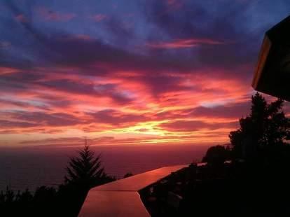 Treebones Resort Big Sur sunset