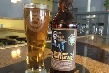 Crabtree Brewing Company's Berliner Weisse