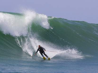 Chuck Petterson Big Wave Surf Skiing