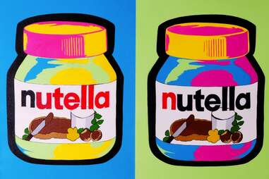 Nutella art
