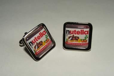 Nutella cufflinks