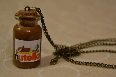 Nutella necklace