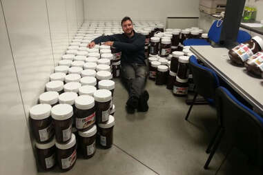 Lots of Nutella