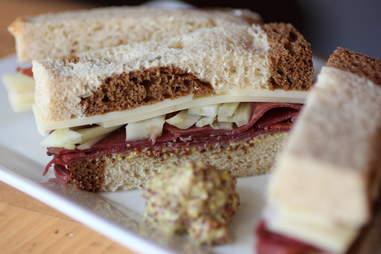 James Joyce sandwich at BookBar