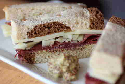 James Joyce sandwich at BookBar