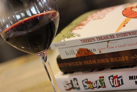 wine and books at BookBar