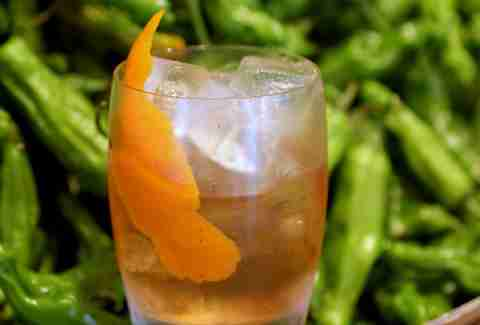 Old Fashioned at Sushi Samba Coral Gables
