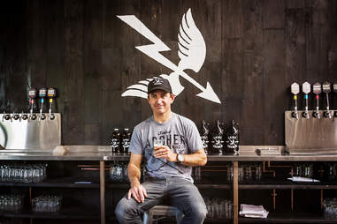 Kent Kruetzer, VP of Operations at Saint Archer Brewery in San Diego.