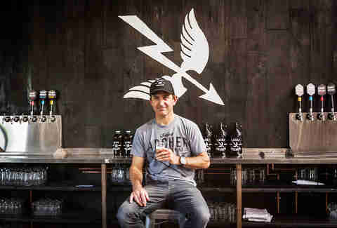 Kent Kruetzer, VP of Operations at Saint Archer Brewery in San Diego.
