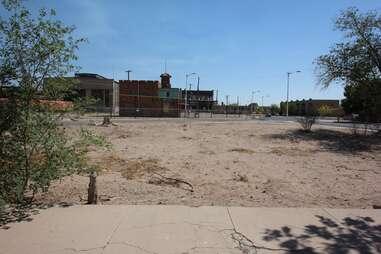 parking lot where Combo got shot in Breaking Bad