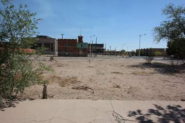 parking lot where Combo got shot in Breaking Bad