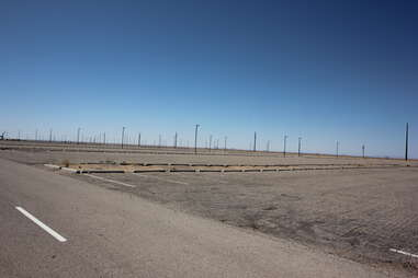 parking lot from Breaking Bad