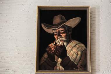 Painting at Pozo Mercado, Dallas TX
