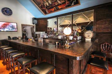 Upstairs bar at Pozo Mercado, Dallas TX