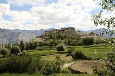 An Escapists Dream Through India Monastery