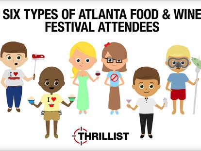 Atlanta Food & Wine Festival - foodies