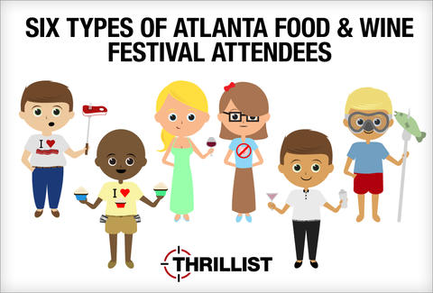 Atlanta Food & Wine Festival - foodies