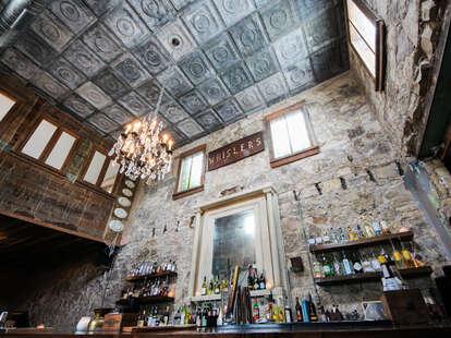 The bar at Whisler's