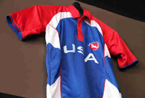 Team USA cricket jersey at Hit Wicket