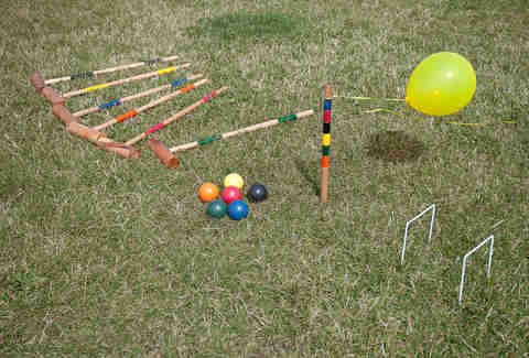 Croquet at The San Francisco Lawn Party