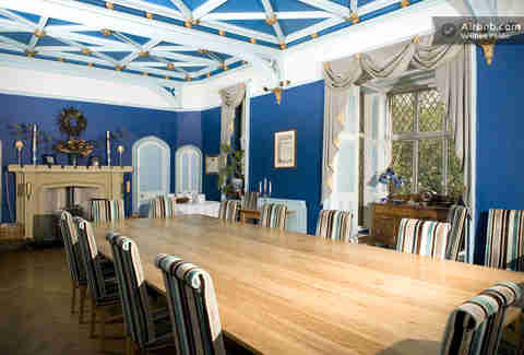 Airbnbest: Augill Castle Dining