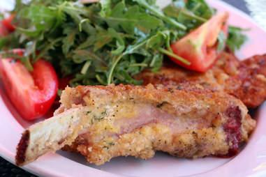 Milanese pork chop at Centro Ristorante in River North