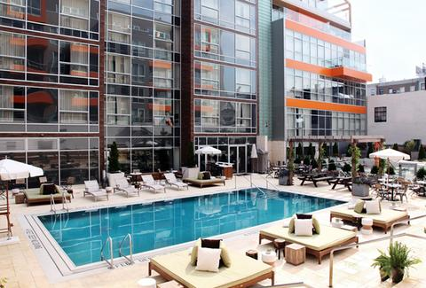 Pool at King & Grove Williamsburg