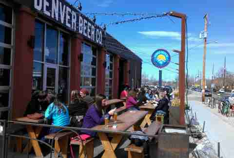 Denver Beer Co patio