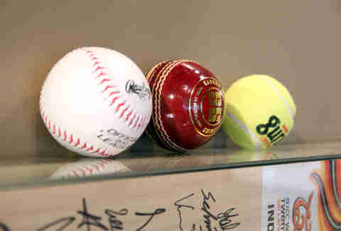 Cricket balls at Hit Wicket