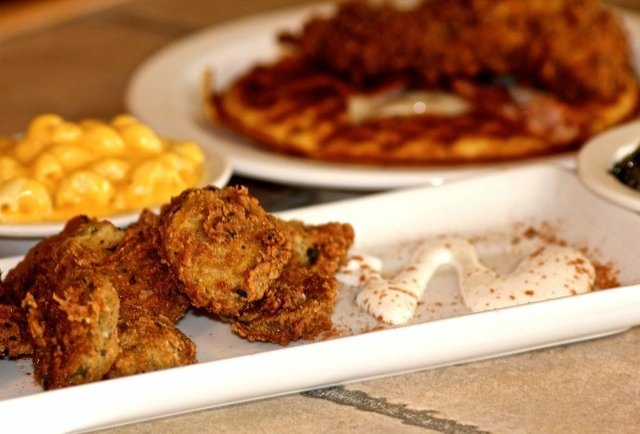 The late-night fried chicken and waffles the Hamptons desperately needed